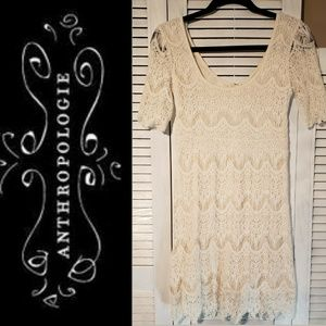 PINS & NEEDLES for Anthropologie Lacey Dress Small